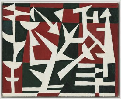 Carmen Herrera, 'Field of Combat', 1952