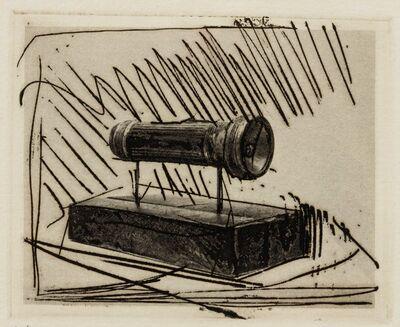 Jasper Johns, 'Flashlight (Small), 1st Etchings, 2nd State', 1967-1969