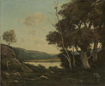 Henri-Joseph Harpignies, 'Landscape', 1898