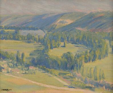 Thomas Buford Meteyard, 'La Vallee de la Seine', 1890-1893