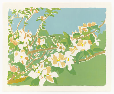 Fairfield Porter, 'Apple Blossoms I', 1974