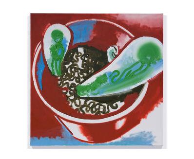 Wilhelm Sasnal, 'Untitled (LA Cactus 1)', 2020