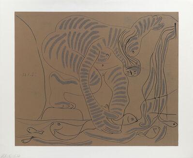 Pablo Picasso, 'Femme nue pêchant des Truites à la Main', 1962-63