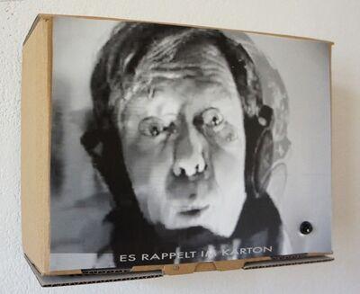 """Klaus vom Bruch, '""""Es rappelt im Karton""""', 1992"""