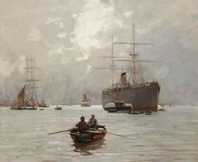 Sir Frank Brangwyn, 'The End of the Voyage', ca. 1890