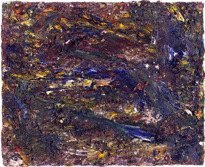 "Eugène Leroy, '""Mer verte""', 1993"