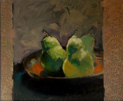 """Francis Livingston, '""""Three Pears""""', 2014"""