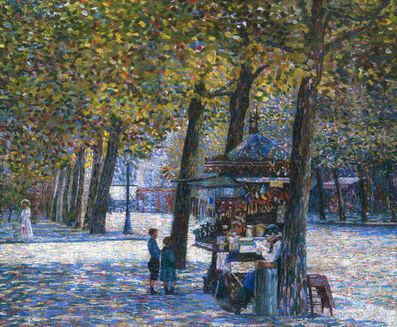 Gino Severini, 'The Candy Seller (Avenue Trudaine)', 1908
