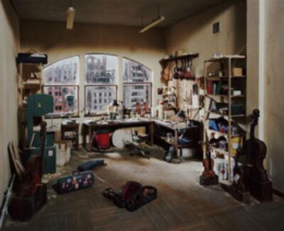 Lori Nix and Kathleen Gerber, 'Violin Repair Shop', 2011