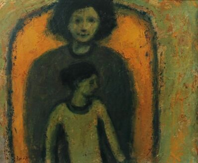 Michael Bennett, 'Mother and Daughter, Yellow Arch'
