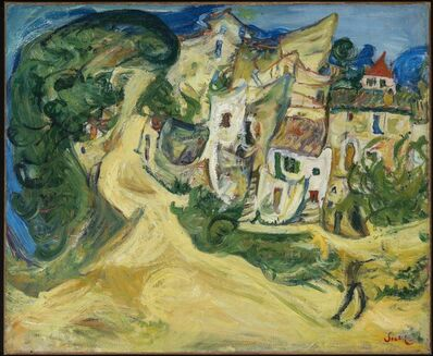 Chaim Soutine, 'Landscape at Cagnes', 1922