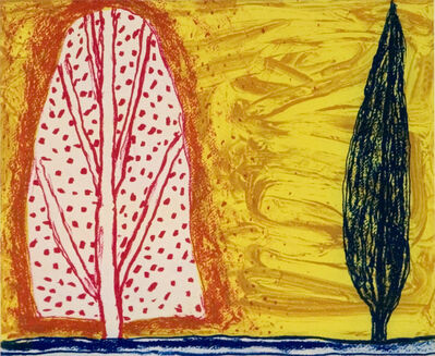 William Crozier, 'Two Trees', 2006