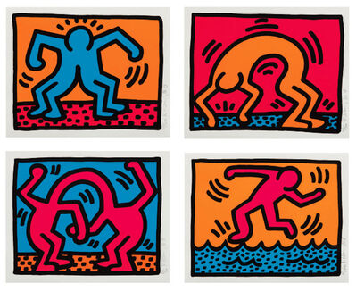 Keith Haring, 'Pop Shop II', 1988