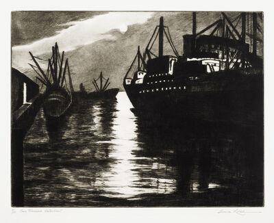 Gene Kloss, 'San Francisco Waterfront (Not in Kloss)', 1983