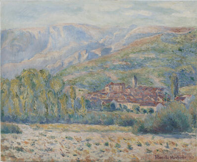 Blanche Hoschedé-Monet, 'Village de Poujal-sur-Orb', Unknown
