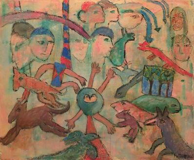 Florence Putterman, 'Riddling Legend X', 2004