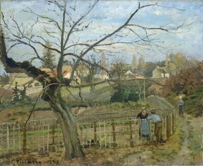 Camille Pissarro, 'The Fence', 1872