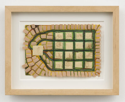 Franz Ackermann, 'Untitled (Mental Map: my private housing project)', 1994