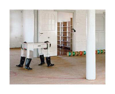Kerstin Flake, 'Running out 4', 2016