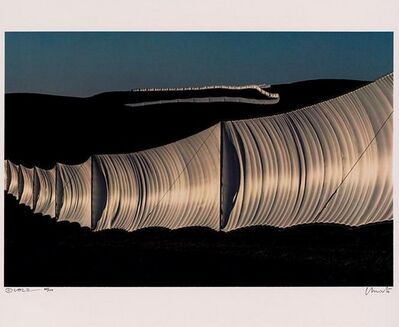 Christo and Jeanne-Claude, 'Running Fence', 1970-1980