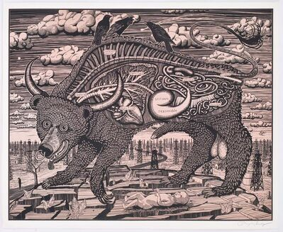 Grayson Perry, 'Animal Spirit (Pink)', 2016