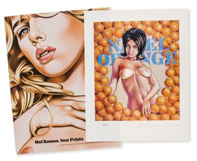 Mel Ramos, 'Navel Oranges (from New Prints)', 2013
