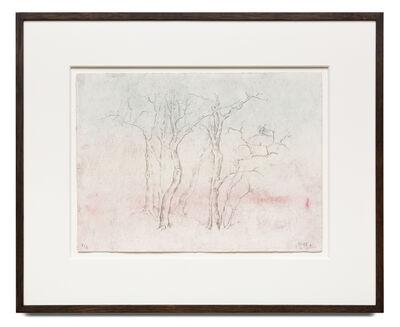 Zeng Fanzhi, 'Wintry Trees 寒林图', 2018