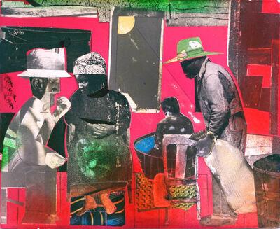 Romare Bearden, 'Saturday Evening', 1975
