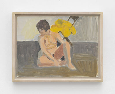 Fairfield Porter, 'Untitled [seated nude]'