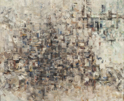 Celestino Alves, 'Sem Titulo - Composição', 1970