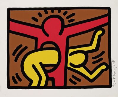 Keith Haring, 'Untitled, 1989 (Pop Shop IV - C)', 1989