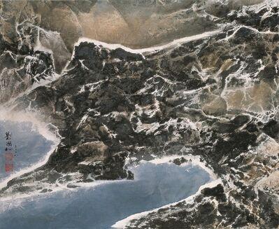 Liu Kuo-sung 刘国松, 'Pangong Tso 班公錯灣', 2008
