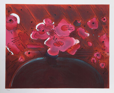 Peter Max, 'Marilyn's Flowers II', 1981