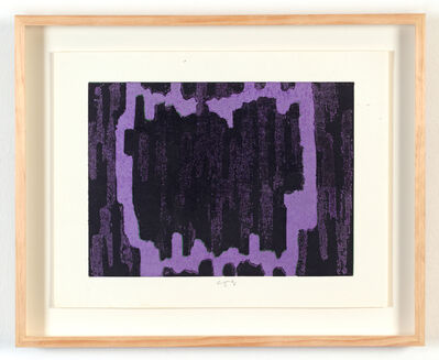 Chiyu Uemae, 'Untitled (Purple) ', 1985