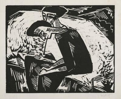 Karl Schmidt-Rottluff, 'The Sisters', 1914