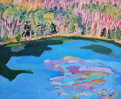 Yvonne Troxell Lamothe, 'Connor Pond, Early Spring', 2020