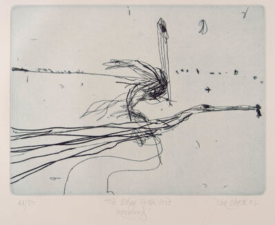 John Olsen (b.1928), 'Edge of the Void', 2002