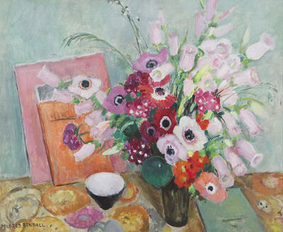 Mildred Bendall, 'Poppies and Foxgloves', ca. 1930