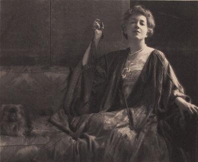 Adolf de Meyer, 'Fashionable Seated Woman', 1915c/1915c