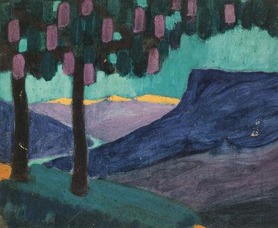 Theodor Prachensky, 'South Tyrolean landscape', 1914