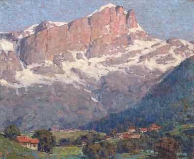 Edgar Alwin Payne, 'Peaks of St. Gervais', ca. 1945