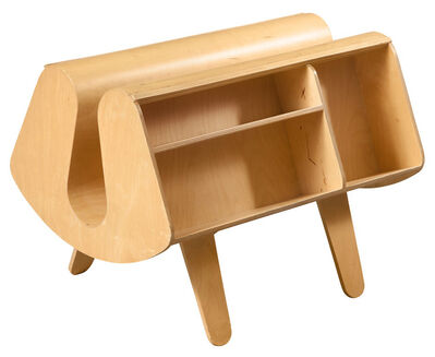Egon Riss, 'Birch Plywood Penguin Donkey Bookcase, For Windmill Furniture, London'