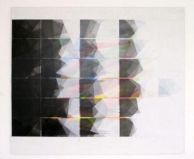 Irena Eden & Stijn Lernout, 'o.T (170.200.4.17), acrylic & pencil on canvas, 170 x 200 cm', 2017