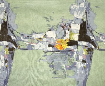 Donald Hamilton Fraser, 'Cyclades' printed fabric'
