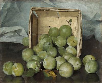 Joseph Decker, 'Green Plums', ca. 1885