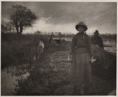 Peter Henry Emerson, 'Bringing Home the Shoofstuff', 1886