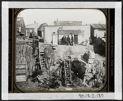 Jacob A. Riis, 'Shanty town', 1896