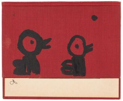 W Tucker, 'black bird singing the x's & o's', 2015