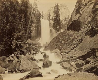 Carleton E. Watkins, 'Vernal Falls 350 feet, Yosemite Valley', 1878-81