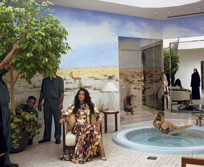 Larry Sultan, 'Dubai Hot Tub', 2005